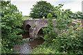 NY0008 : Kersey Bridge over the River Ehen by David P Howard
