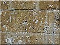 ST4817 : Scratch dial, Stoke Sub Hamdon Church by Becky Williamson