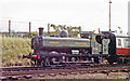 SK5419 : Preserved ex-GWR 0-6-0PT on Great Central Railway at Loughborough, 1992 by Ben Brooksbank