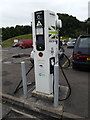 SU3076 : Ecotricity Charging Point at Membury Service Area by Adrian Cable