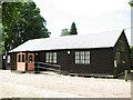 TL9577 : Coney Weston village hall by Evelyn Simak