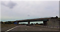 SK0606 : Railway bridge over M6 Toll by John Firth