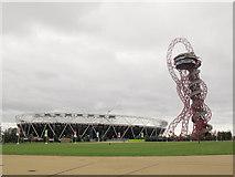 TQ3783 : Olympic Park: stadium conversion (2) by Stephen Craven