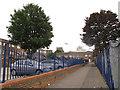 TQ3981 : Baron Walk, Newham by Stephen Craven