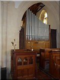 SS6644 : Christ Church, Parracombe: organ by Basher Eyre