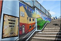 SJ8446 : Newcastle-under-Lyme: Bridge Street Subway (4) by Jonathan Hutchins