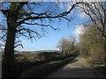 SX4072 : Road, Latchley Plain by Derek Harper