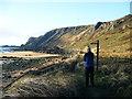 NT4699 : Fife coast near Elie by Bill Kasman