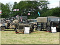 SO6452 : Bromyard Gala - military vehicle display by Chris Allen