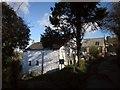 SX4172 : Cottages, Chilsworthy by Derek Harper