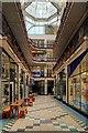 SJ8398 : Barton Arcade (2) by David Dixon