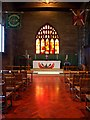 SJ8398 : Regimental Chapel and Fire Window, Manchester Cathedral by David Dixon