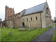 TL7835 : The Church of St Nicholas at Castle Hedingham by Peter Wood