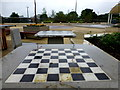 H4572 : Chess board, OASIS Plaza, Omagh by Kenneth  Allen