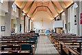 SK9567 : Interior, St George's church, Swallowbeck by Julian P Guffogg