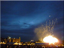 TL4558 : Firework display at The Big Weekend, Cambridge - No 2 by Richard Humphrey