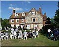 SU8003 : Bosham Manor garden hosting Bosham Church fête by Rob Farrow
