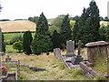 SO7993 : Churchyard View by Gordon Griffiths