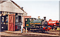 SU5290 : Ex- Cardiff Railway (GWR) 0-4-0ST at Didcot Railway Centre, 2001 by Ben Brooksbank