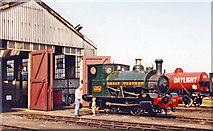 SU5290 : Ex- Cardiff Railway (GWR) 0-4-0ST at Didcot Railway Centre, 2001 by Ben Brooksbank