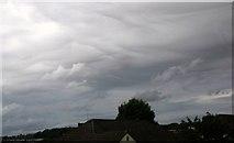 SX9065 : Cloud formation over South Devon by Derek Harper
