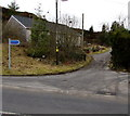SS8695 : West side of a cycle route, Maesteg Road, Cymmer by Jaggery