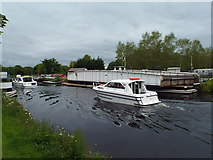 NH6543 : Caledonian Canal at Tomnahurich Bridge, Inverness by Malc McDonald
