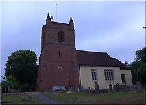 SU7963 : St James, Finchampstead: churchyard (3) by Basher Eyre
