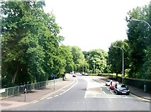 J3472 : The Ormeau Embankment viewed from the Ormeau Road by Eric Jones