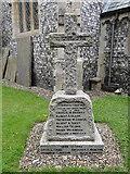 TG1613 : Taverham War Memorial by Adrian S Pye