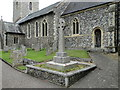 TG1813 : The Drayton War Memorial by Drayton church by Adrian S Pye