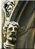TR3865 : Detail on the west door of St. George's church, Margate by pam fray