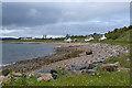 NG8690 : Sea shore near Ormiscaig by Nigel Brown