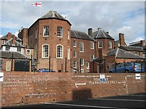 SO8454 : The rear of Worcester's Guildhall by Philip Halling