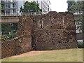 TQ3281 : Bastion 14, London City Wall by Julian Osley
