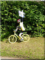 NY6137 : The yellow bikes of Melmerby (4) by Oliver Dixon