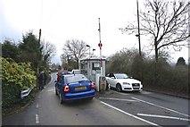 SJ6989 : Toll Gate by Anthony O'Neil