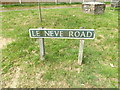 TG1924 : Le Neve Road sign by Geographer