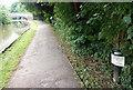 SJ8840 : Trent & Mersey Canal Milepost near Limekiln Bridge No 105 by Mat Fascione