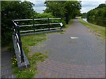 SJ8842 : Towpath along the Trent & Mersey Canal by Mat Fascione