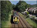 SE0822 : Train heading towards Halifax by Stephen Craven