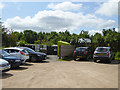 NY6824 : A corner of Dufton car park by Oliver Dixon