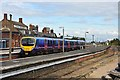TA3009 : Train in Cleethorpes station by John Firth