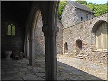 SX5646 : The ruined church of St Peter the Poor Fisherman, Stoke by David Smith