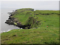 NM3235 : Puffin watchers on Staffa by Hugh Venables