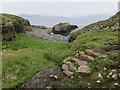 NM3235 : Reinforced path, Staffa by Hugh Venables