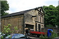SE0924 : Shaw Lodge Mills - engine house by Chris Allen