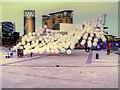 SJ8097 : Mini Burble at MediaCityUK (Evening) by David Dixon