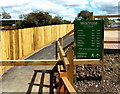 ST9386 : Footpath entrance to Waitrose, Malmesbury by Jaggery