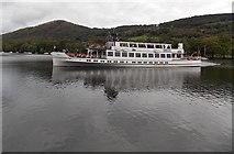 SD3787 : MV Swan on Windermere by Jaggery